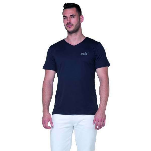 MANUEL slightly fitted v-neck T-shirt