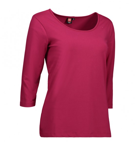 Ladies fashion t-shirt 3/4 sleeves