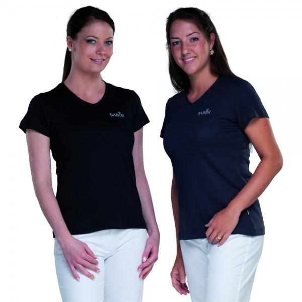 SANDRA V-Ausschnitt T-Shirt -Auslaufartikel-